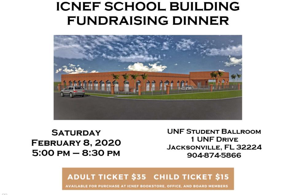 ICNEF SCHOOL FUNDRAISING